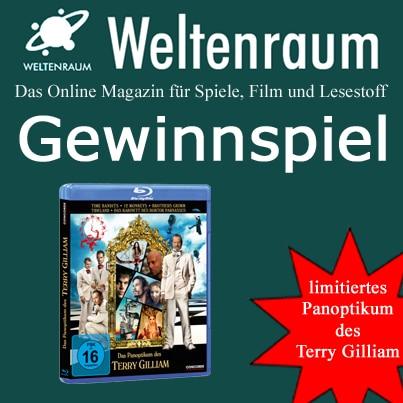 Gewinnspiel Panoptikum des Terry Gilliam