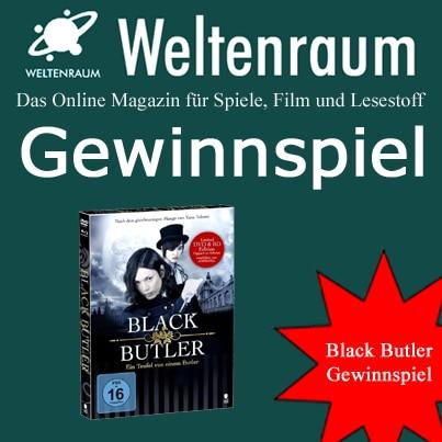 Gewinnspiel Black Butler