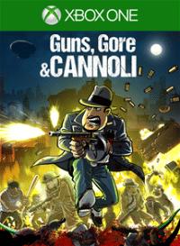 Xbox One Cover - Guns, Gore and Cannoli, Rechte bei Crazy Monkey Studios