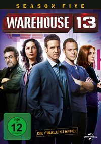Warehouse 13 - Staffel 5 - Cover