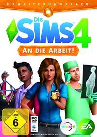 Die Sims 4 - An die Arbeit - Cover