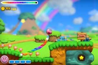 Kirby und der Regenbogen-Pinsel - Bild 1