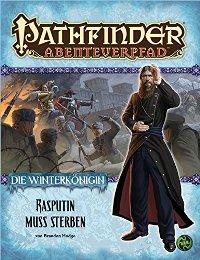 Winterkoenigin - Rasputin muss sterben - Cover