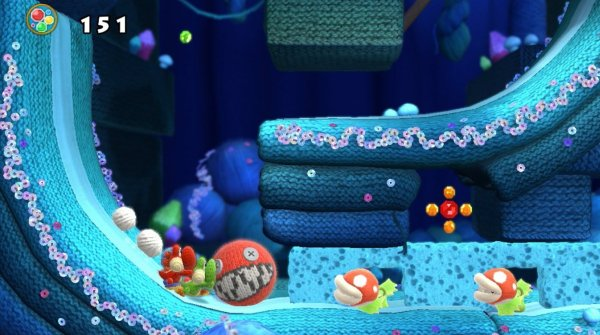 Yoshis Woolly World - Szenenbild