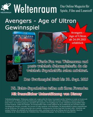 Gewinnspiel Bild Avengers AOU