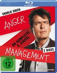 Blu-ray Cover - Anger Management - Die komplette 5. Staffel, Rechte bei Concorde Home Entertainment