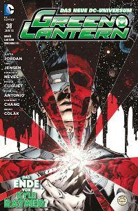 Comic Cover - Green Lantern Sonderband #38: Das Leben von Kyle Rayner?, Rechte bei Panini Comics