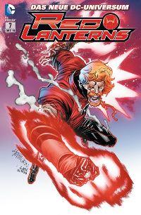 Comic Cover - Red Lanterns #7: Atrocitus' Erbe, Rechte bei Panini Comics
