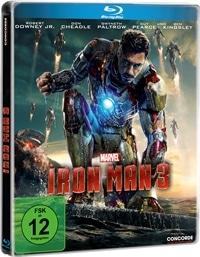 Blu-ray Cover - Iron Man 3, Rechte bei Concorde