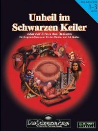 Abenteuer Cover - Unheil im Schwarzen Keiler, Rechte bei Ulisses Spiele
