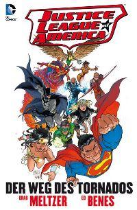 Comiccover - Justice League of America: Der Weg des Tornados, Rechte bei Panini Comics