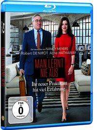 Blu-ray Cover - Man lernt nie aus, Rechte bei Warner Bros. Home Video