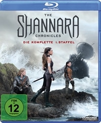 Blu-ray Cover - The Shannara Chronicles - Die komplette 1.Staffel, Rechte bei Concorde Home Entertainment