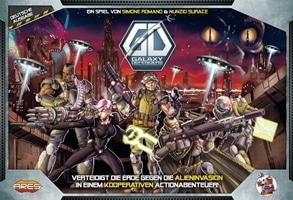Galaxy Defenders, Rechte bei Heidelberger Spieleverlag / Ares Games