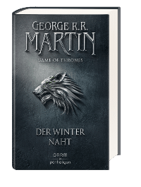 Buch Cover - Game of Thrones 1: Der Winter naht, Rechte bei Penhaligon