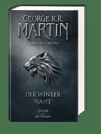 Buch Cover - Game of Thrones 1: Der Winter naht, Rechte bei Penhaligon