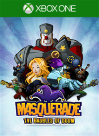 Xbox One Cover - Masquerade: The Baubles of Doom, Rechte bei Big Ant Studios