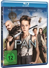 Blu-ray Cover - Pan, Rechte bei Warner Bros. Pictures