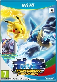 WiiU Cover - Pokémon Tekken, Rechte bei Nintendo