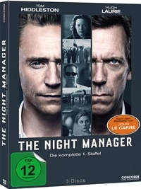 DVD Cover - The Night Manager, Rechte bei Concorde Home Entertainment