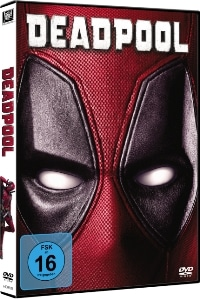 DVD Cover - Deadpool, Rechte bei Twentieth Century Fox