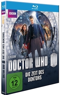 Blu-ray Cover - Doctor Who - Die Zeit des Doktors, Rechte bei polyband