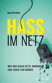 Buchcover - Hass im Netz, Rechte bei Christian Brandstätter Verlag