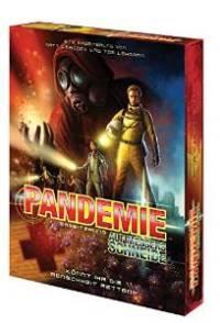 Brettspiel Schachtel - Pandemie – Auf Messers Schneide, Rechte bei Asmodee
