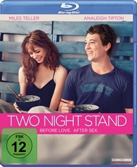 Blu-ray Cover - Two Night Stand, Rechte bei Concorde Home Entertainment