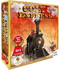 Brettspielschachtel - Colt Express, Rechte bei Asmodee