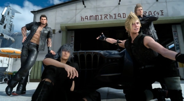 Final Fantasy XV - das Team