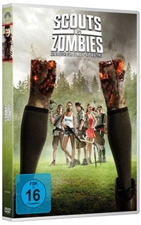 DVD Cover - Scouts vs. Zombies: Handbuch zur Zombie-Apokalypse, Rechte bei Universal Pictures