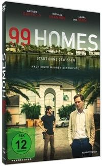 DVD Cover - 99 Homes - Stadt ohne Gewissen, Rechte bei EuroVideo