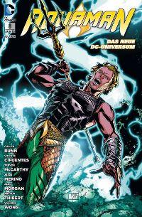 Comic Cover - Aquaman #8: Verbannt aus Atlantis, Rechte bei Panini Comics