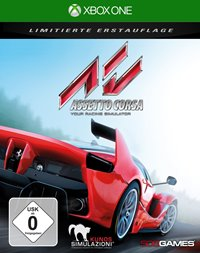 Xbox One Cover - Assetto Corsa, Rechte bei 505 Games