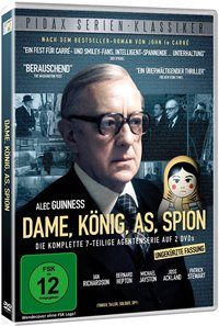 DVD Cover - Dame, König, As, Spion, Rechte bei Pidax Film