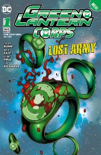 Comic Cover - Green Lantern Corps #1: Lost Army 1, Rechte bei Panini Comics