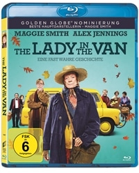 Blu-ray Cover - The Lady in the Van, Rechte bei Sony Pictures