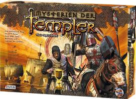 Cover - Mysterien der Templer, Rechte bei Heidelberger Spieleverlag