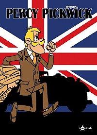 Comic Cover - Percy Pickwick – Gesamtausgabe #1, Rechte bei toonfish
