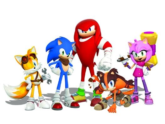 Sonic und seine Freunde - Sonic Boom: Feuer und Eis, Rechte bei Nintendo / SEGA