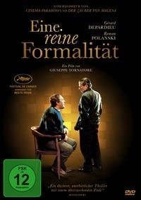 DVD Cover - Eine reine Formalität, Rechte bei Koch Media