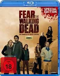 Blu-ray Cover - Fear the Walking Dead - Die komplette erste Staffel, Rechte bei WVG