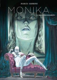 Monika 1-Ball der Masken - Cover