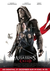 Filmplakat - Assassin's Creed, Rechte bei © 2016 Twentieth Century Fox
