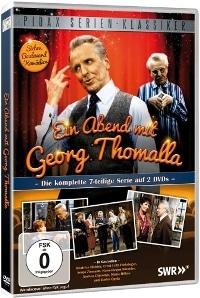 DVD Cover - Ein Abend mit Georg Thomalla, Rechte bei Pidax Film