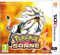 3DS Cover - Pokémon Sonne, Rechte bei Nintendo / The Pokémon Company