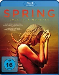 Blu-ray Cover - Spring - Love is a Monster, Rechte bei Koch Media