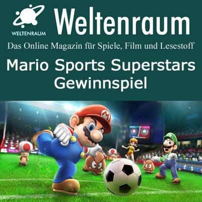 Gewinnspiel Mario Sports Superstars