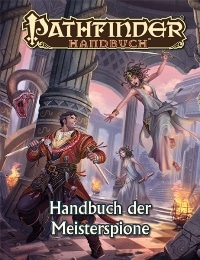 Cover - Pathfinder Handbuch der Meisterspione, Rechte bei Ulisses Spiele